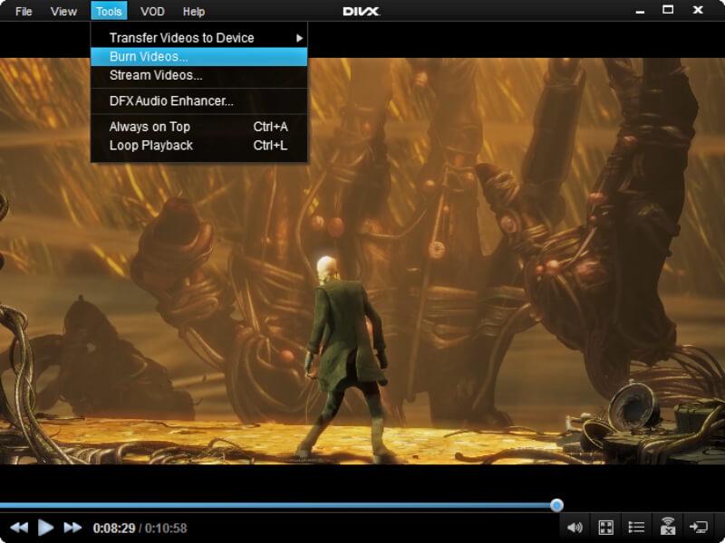 تحميل برنامج تشغيل الفيديو والصوت 2021 Divx Player للكمبيوتر