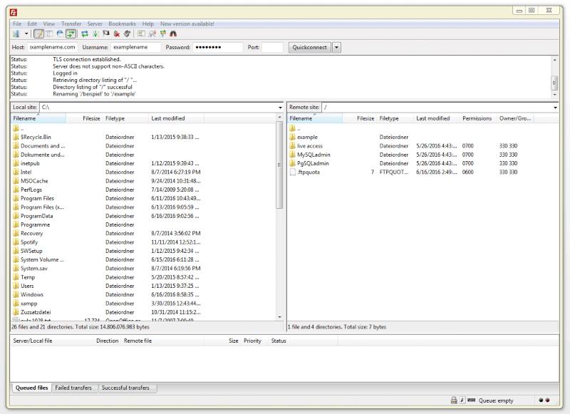 تحميل برنامج فايل زيلا 2021 Download FileZilla مجانا للكمبيوتر