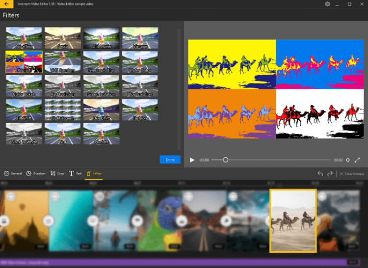 تحميل برنامج تعديل الفيديو باحترافية 2021 Icecream Video Editor للكمبيوتر