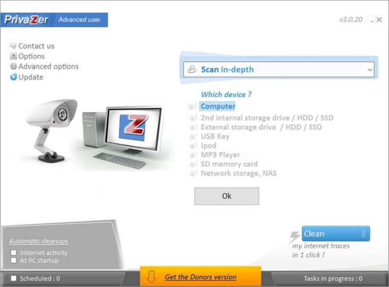 برنامج تنظيف الهارد ديسك برايفزر 2021 Privazer للكمبيوتر اخر اصدار
