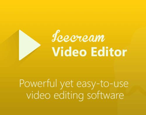 برنامج التعديل على الفيديو ، تحسين مظهر المقطع ، تسريع وابطاء الفيديو ، ايس كريب للتعديل على الفيديو ، Download Icecream Video Editor