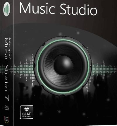 تسجيل الصوت من الميكروفون ، الحرق على الاقراص ، عمل قوائم التشغيل ، ادارة الصوتيات ، تطبيق التأثيرات ، ashampoo music studio