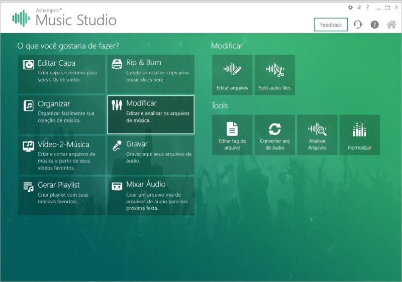 تحميل برنامج مونتاج وتسجيل الصوت 2021 Ashampoo Music Studio للكمبيوتر