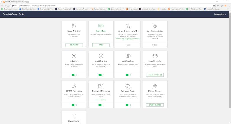 تحميل المتصفح السريع والامن 2021 Avast Secure Browser مجانا للكمبيوتر