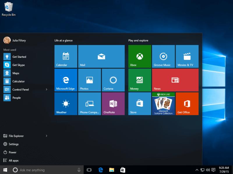 تحميل نظام ويندوز 10 التحديث الاخير Windows 10 ISO مجانا
