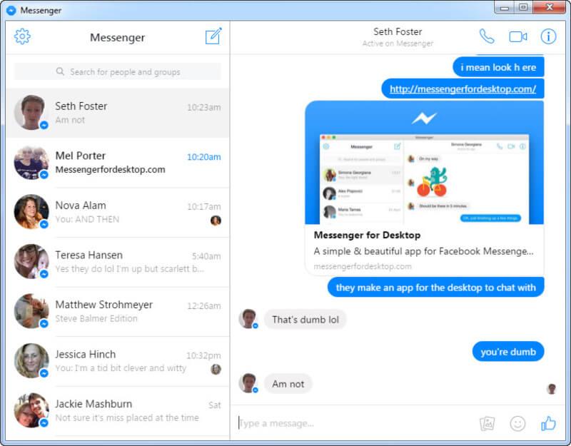 تحميل ماسنجر فيس بوك للكمبيوتر 2021 Messenger Desktop مجانا