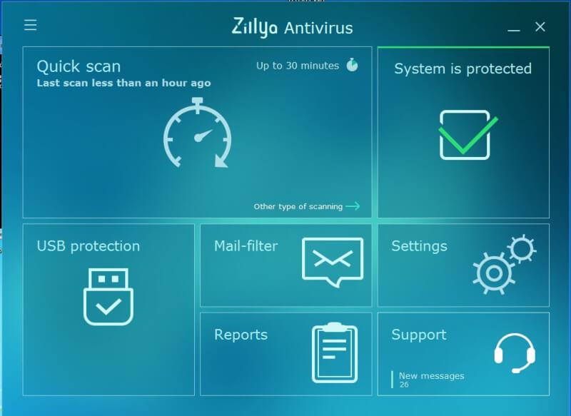 تحميل برنامج انتي فيروس قوي 2021 Zillya! Аntivirus للكمبيوتر