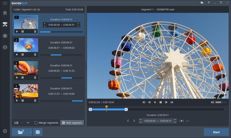 تحميل برنامج تقطيع و دمج الفيديو 2021 Bandicut Video Cutter للكمبيوتر