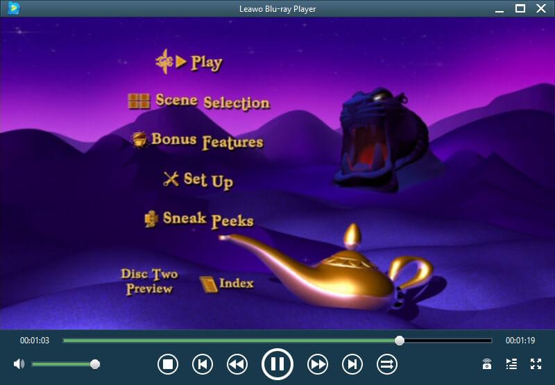 تحميل مشغل الافلام والفيديو 2021 Leawo Blu-ray Player للكمبيوتر