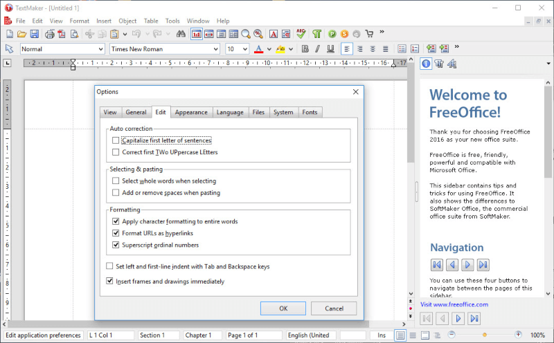 تحميل برنامج عرض وتحرير الاوفيس 2021 FreeOffice مجانا للكمبيوتر
