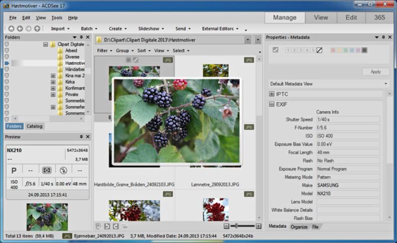 تحميل عملاق عرض الصور 2021 ACDSee Free للكمبيوتر مجانا