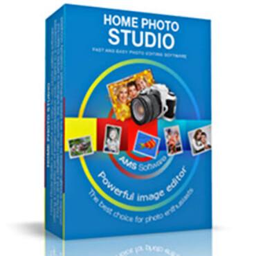 إضافة الاطارات ، قص الصور ، إضافة التأثيرات ، AMS-Home Photo Studio