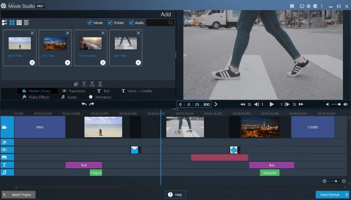 تحميل برنامج تحسين و تحرير الفيديو 2021 Ashampoo Movie Studio