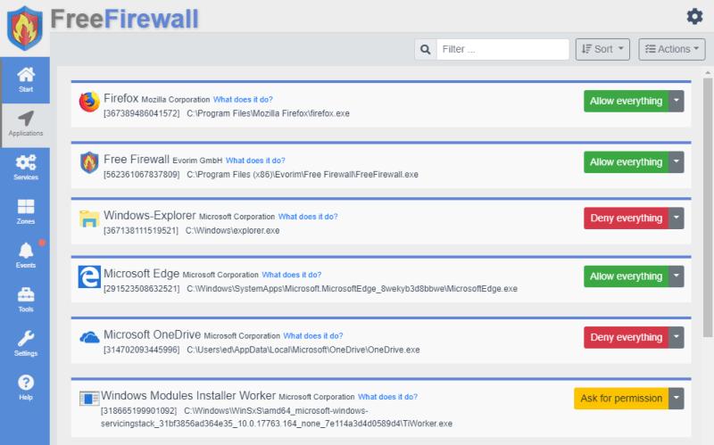 تحميل برنامج جدار الحماية 2021 المجاني Free Firewall للكمبيوتر