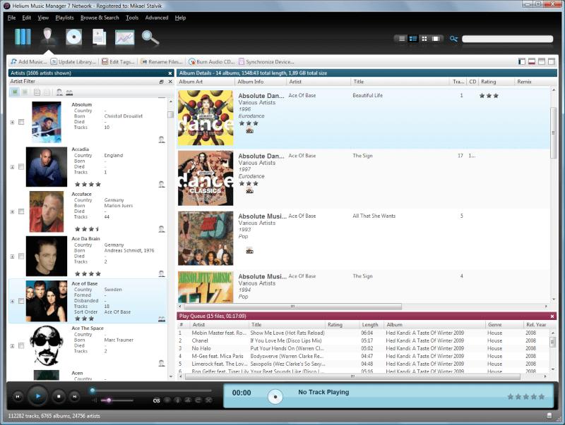 تحميل برنامج تنظيم الموسيقى 2021 Helium Music Manager للكمبيوتر