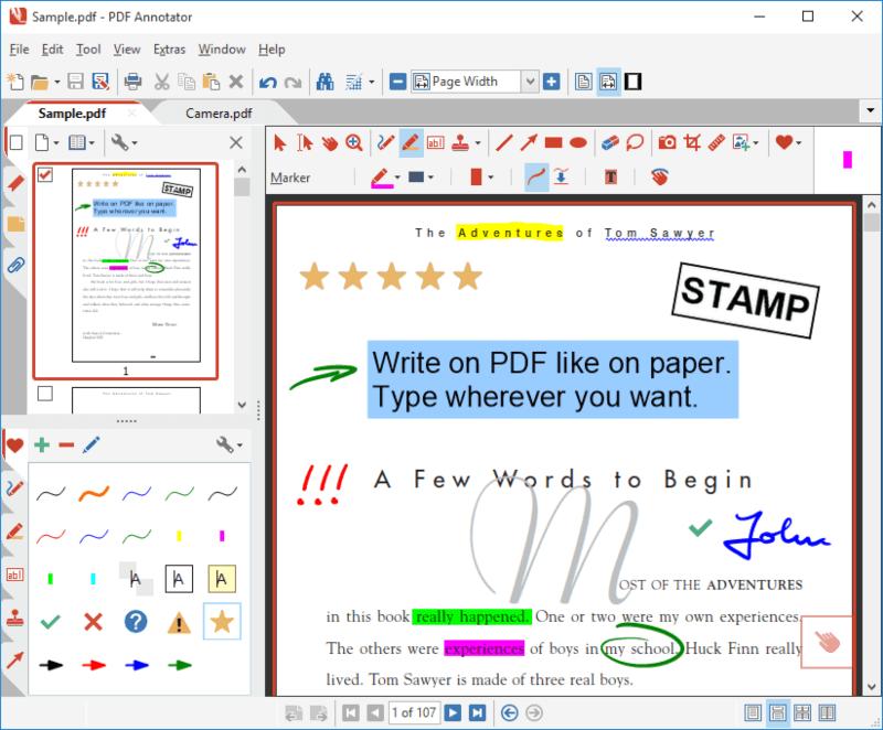 تحميل برنامج التعديل على البي دي اف 2022 PDF Annotator للكمبيوتر