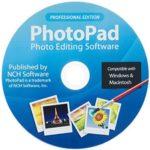 برنامج تعديل الصور الشخصية،تعديل الصور،اضافة التأثيرات على الصور،Photo Edior ، Photopad