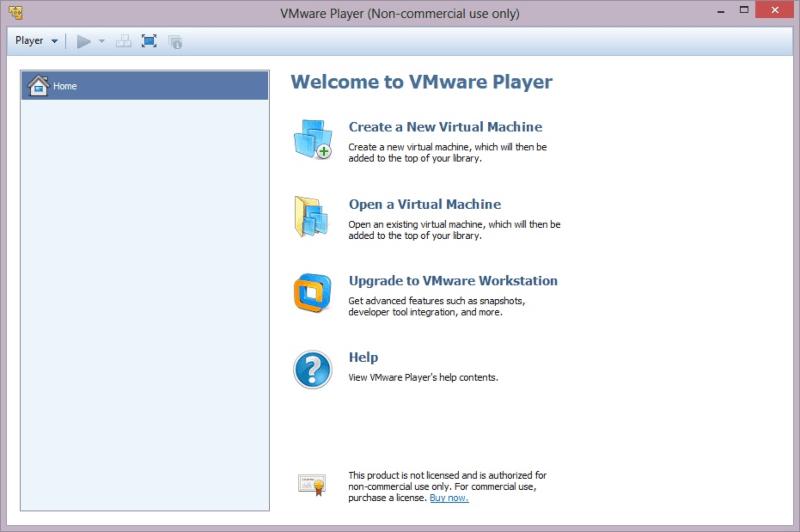 برنامج خلق انظمة وهمية 2021 VMware Workstation Player للكمبيوتر