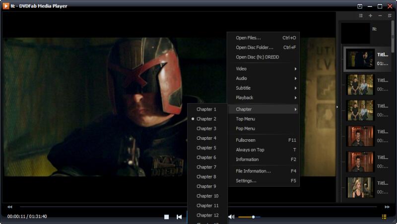 تحميل مشغل الافلام والفيديو 2021 DVDFab Media Player للكمبيوتر