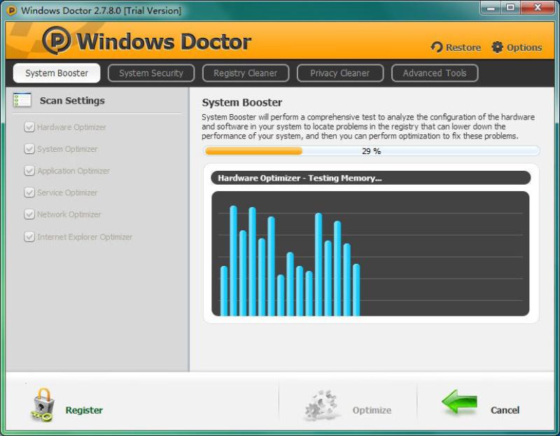 تحميل برنامج تعزيز وتنظيف الحاسوب 2020 Windows Doctor