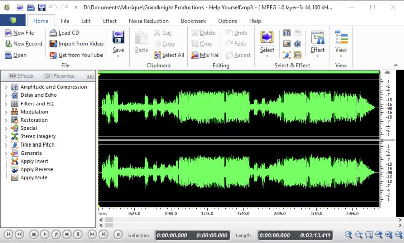برنامج تسجيل الصوت بنقاوة عالية 2021 Cool Record Edit Pro للكمبيوتر