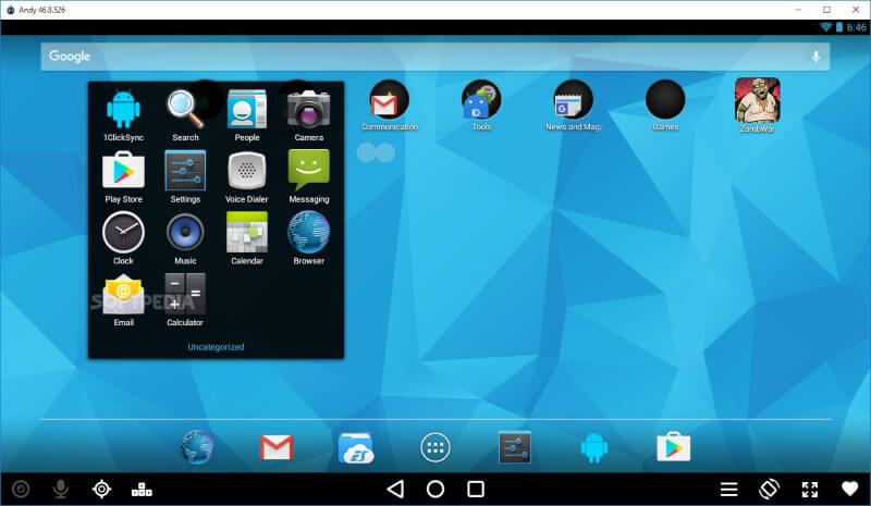 تحميل افضل محاكي اندرويد 2020 Andy Android Emulator مجانا