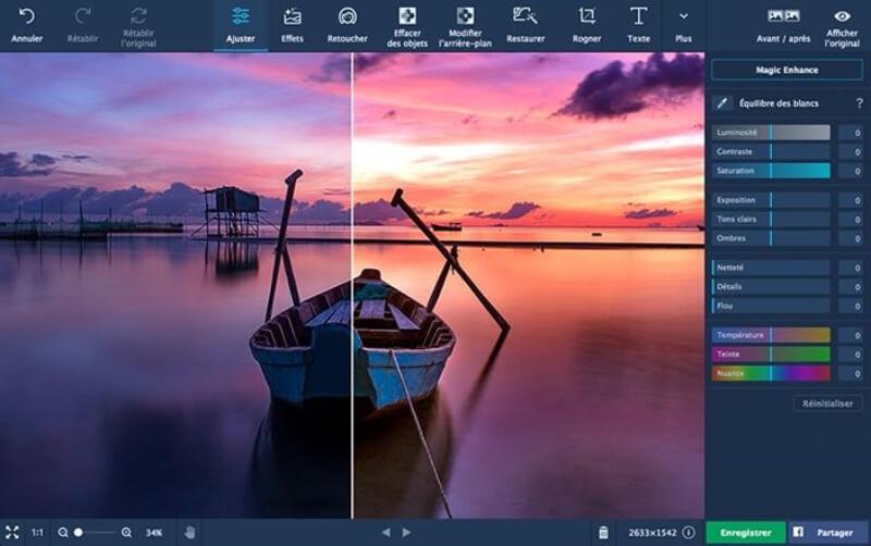 تحميل برنامج تحرير و تزيين الصور 2021 Movavi Photo Editor للكمبيوتر