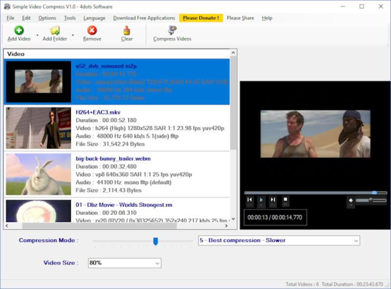تحميل برنامج ضغط الفيديو 2021 Simple Video Compressor للكمبيوتر