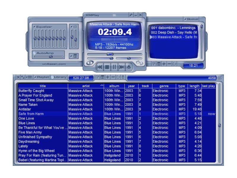تحميل مشغل ملفات الصوت 2021 XMPlay احدث اصدار للكمبيوتر