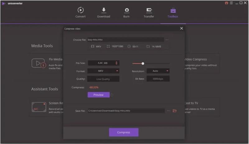 تحميل برنامج Wondershare UniConverter لتحويل الفيديو