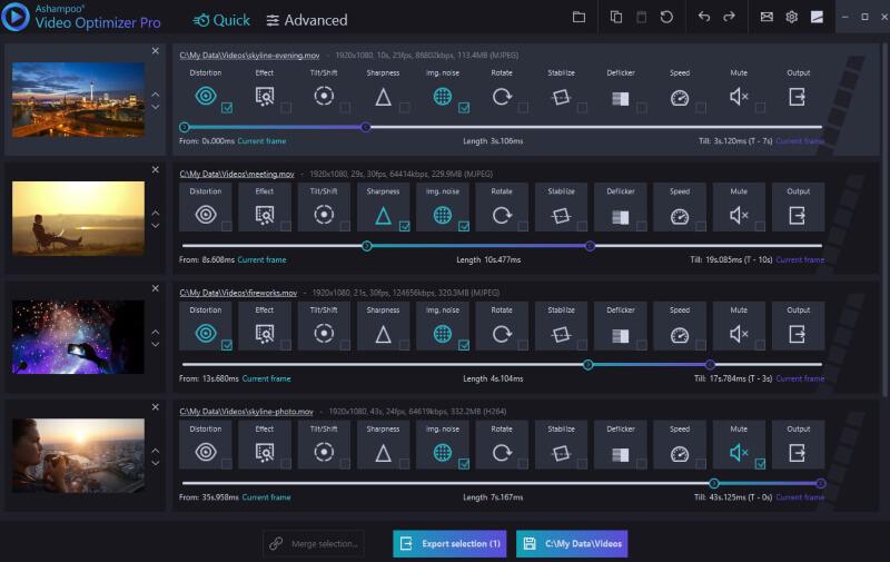 تحميل برنامج تحسين الفيديو 2021 Ashampoo Video Optimizer للكمبيوتر