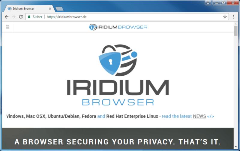 متصفح انترنت سريع ، تحميل برنامج تصفح المواقع ، تنزيل الملفات ، iridium Browser