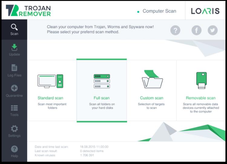 تحميل برنامج ازالة التروجان 2021 Loaris Trojan Remover للكمبيوتر