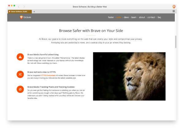 تحميل برنامج التصفح السريع بريف Brave اخر اصدار ، Download Brave Free Browser