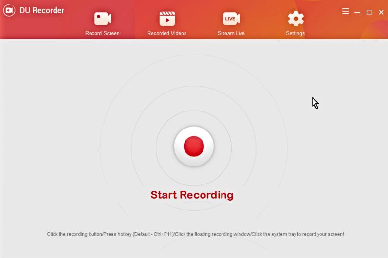 أفضل برنامج تصوير الشاشة فيديو 2021 Du Recorder للكمبيوتر