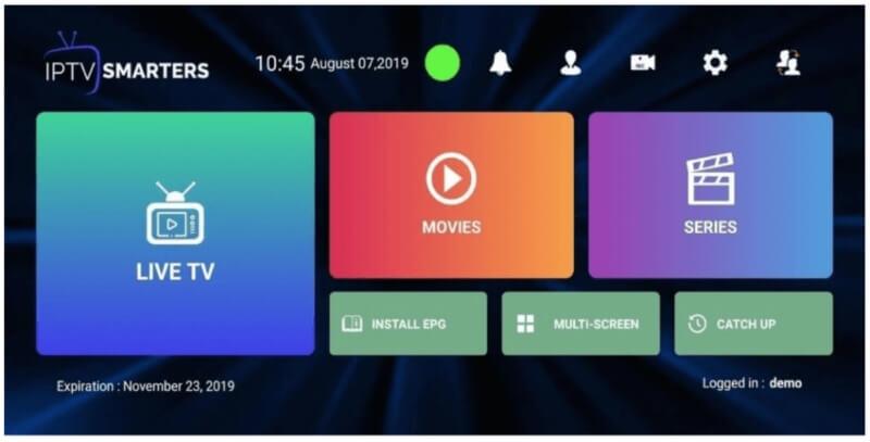 تحميل برنامج iptv مجانا للكمبيوتر 2021 IPTV Smarters