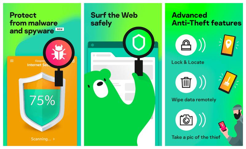 تحميل مكافح الفيروسات للاندرويد 2021 Kaspersky Mobile Antivirus