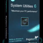 افضل برنامج لتنظيف الكمبيوتر Pegasun System Utilities
