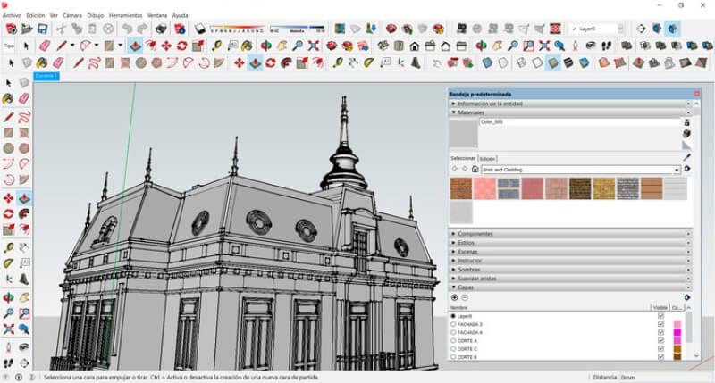 تحميل برنامج التصميم الهندسي 2021 SketchUp مجانا