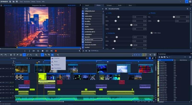 تحميل برنامج تعديل الفيديو و الكتابة عليه 2021 MAGIX Video Pro