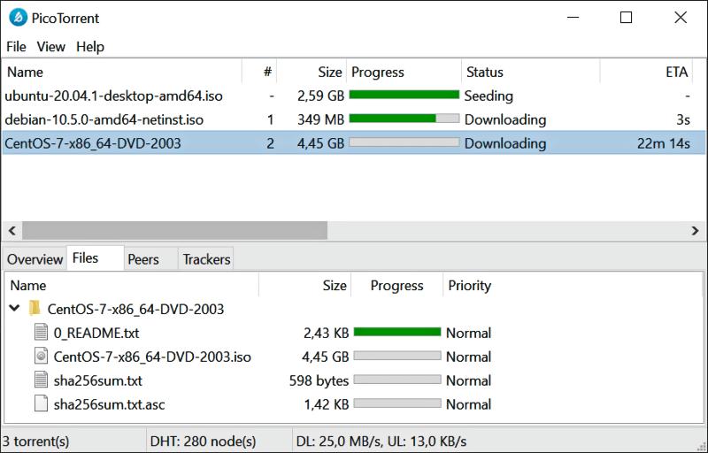 تحميل برنامج التورنت السريع 2021 PicoTorrent للكمبيوتر مجانا