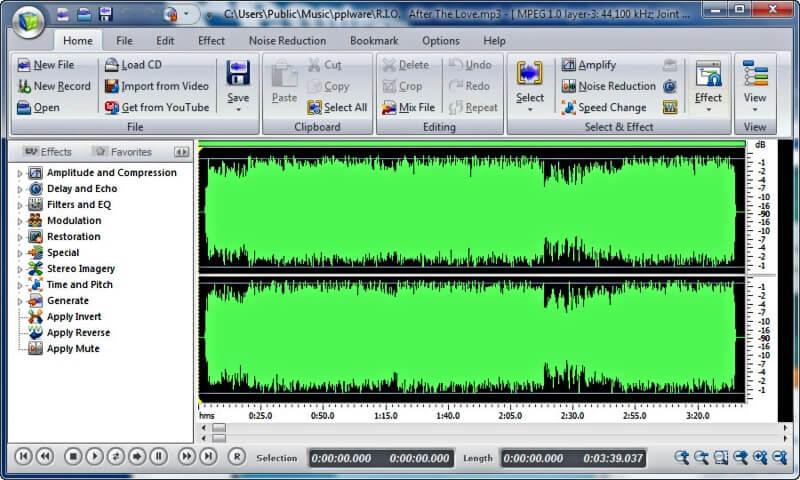 تحميل محرر الصوتيات Power Sound Editor للكمبيوتر