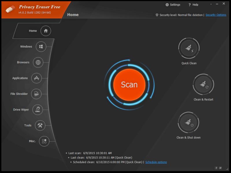 تحميل برنامج حماية الخصوصية 2021 Privacy Eraser للكمبيوتر