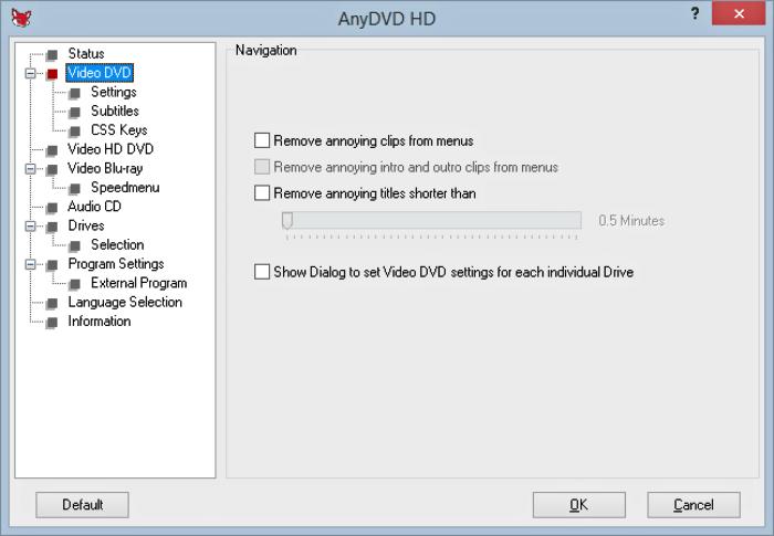 برنامج نسخ اقراص الدي في دى المحمية AnyDVD للكمبيوتر