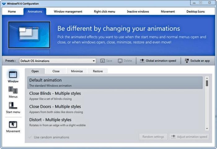 تحميل برنامج تزيين سطح المكتب Stardock WindowFX