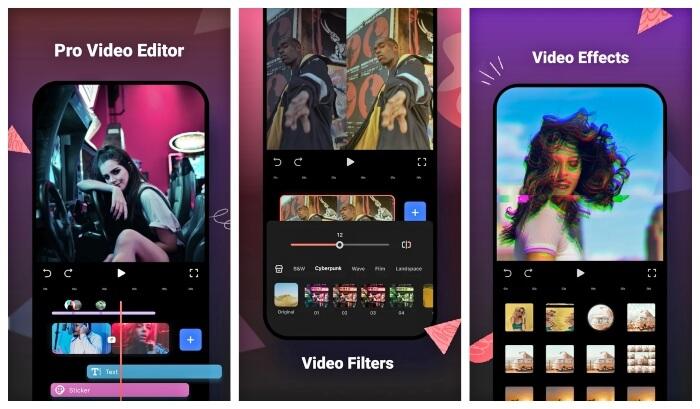 تحميل تطبيق فيلمورا جو للاندرويد 2021 FilmoraGo مجانا