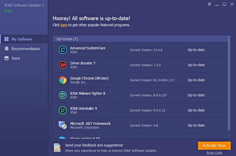 تحميل برنامج IObit Software Updater لتحديث البرامج اخر اصدار