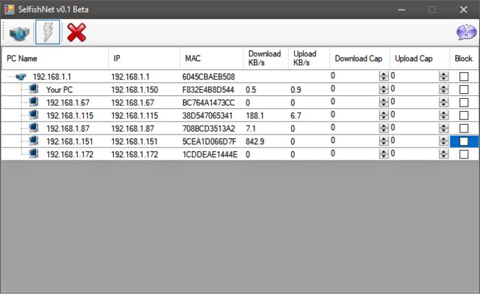 تحميل برنامج سيلفش نت للكمبيوتر Selfishnet مجانا