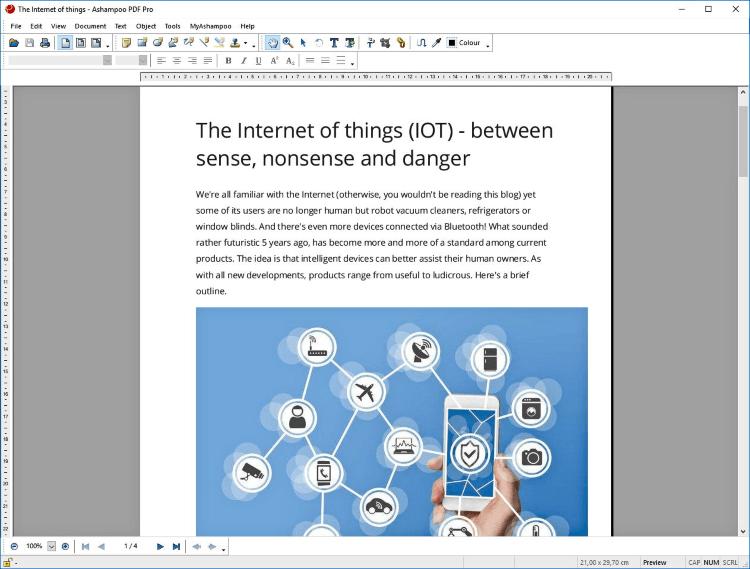 تحميل محرر ملفات البي دي اف Ashampoo PDF للكمبيوتر