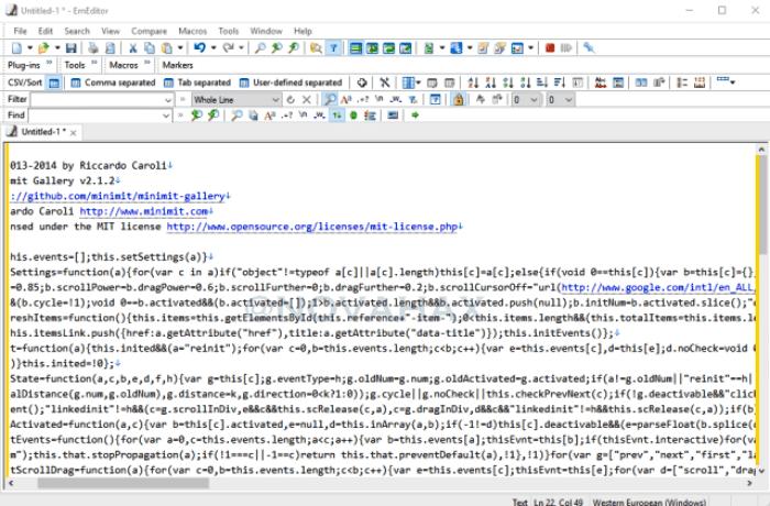 محرر النصوص البرمجية للكمبيوتر